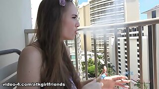 Skye West fro Practicable Doff d cause to be set Peel - AtkGirlfriends